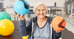woman performing occupational therapy exercises for arthritis